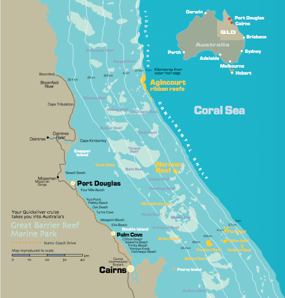 Great Barrier Reef Tours Cairns Discovery Tours