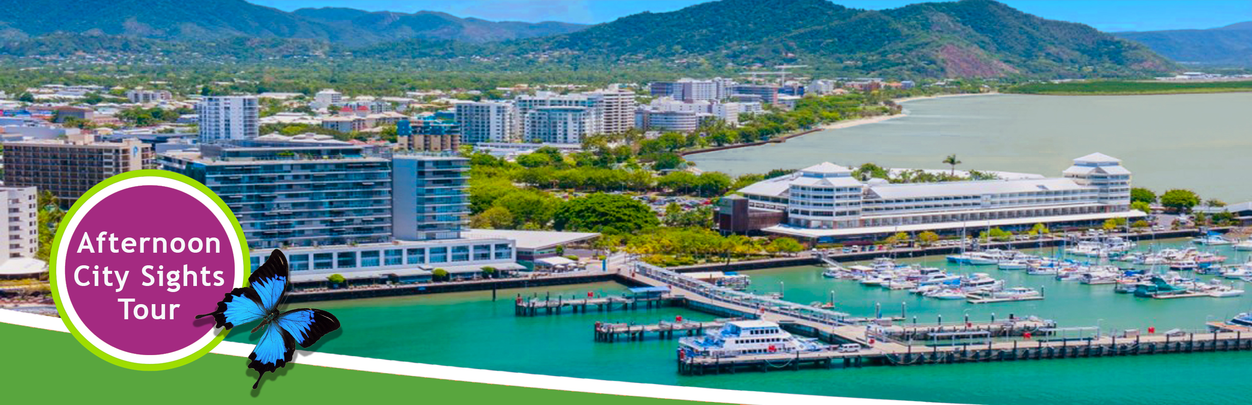 Cairns City Tour And Green Island Cruise